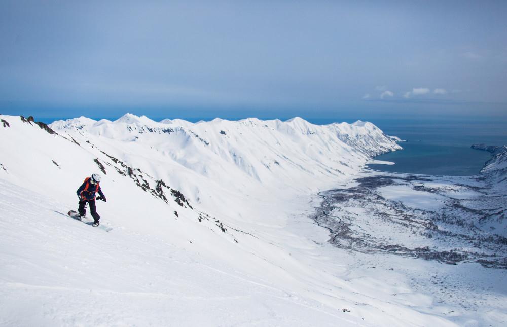 Хели-ски на Камчатке