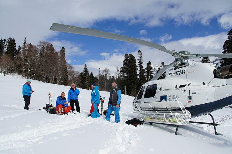 Хели-ски в России